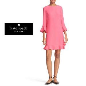 Kate Spade New York Ruffle Shift Dress